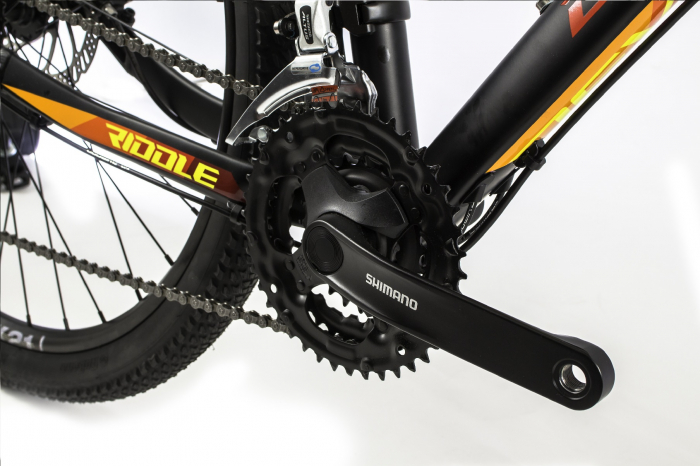 Bicicleta Mtb Devron Riddle M1.7 L Verde 27.5 Inch 7