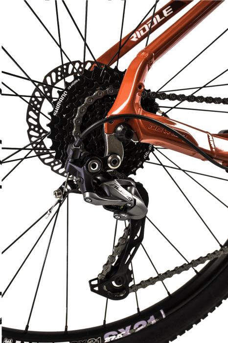 Bicicleta Mtb Devron Riddle M2.7 L Verde 27.5 Inch 7