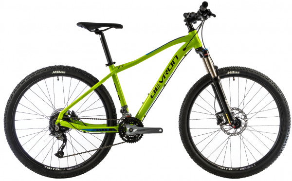 Bicicleta Mtb Devron Riddle M2.7 L Verde 27.5 Inch 0