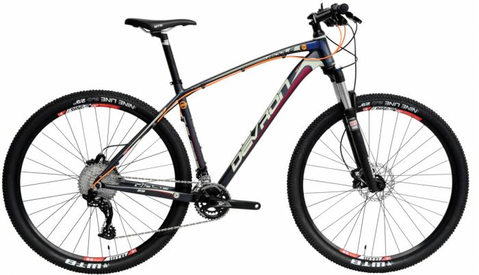 Bicicleta Mtb Devron Riddle R7.9 L 495Mm Cool Grey 29 Inch 0