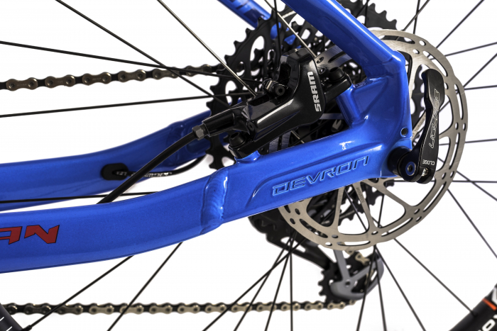 Bicicleta Mtb Devron Vulcan 3.7 M Albastru 27.5 Inch 8