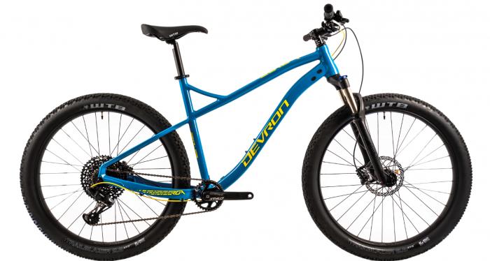 Bicicleta Mtb Devron Zerga 3.7 Xl 520Mm Galben Neon 27.5 Inch Plus 0