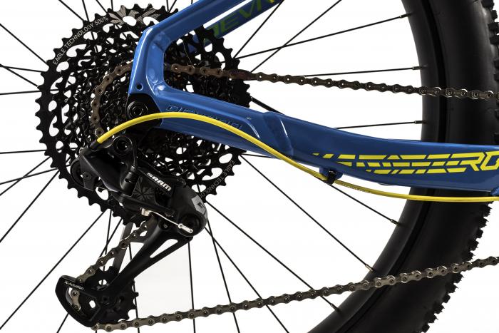 Bicicleta Mtb Devron Zerga 3.7 Xl 520Mm Galben Neon 27.5 Inch Plus 8