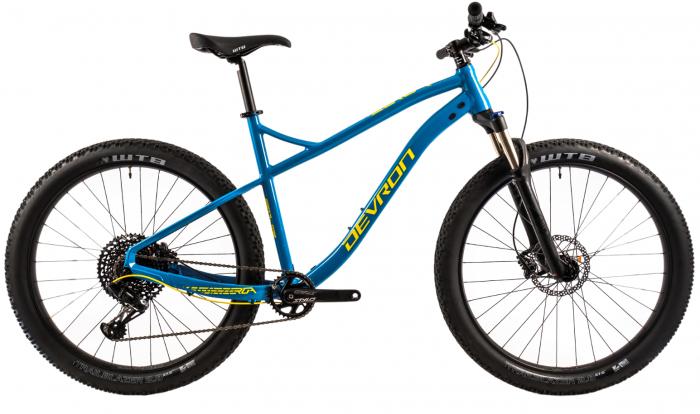 Bicicleta Mtb Devron Zerga 3.7 Xl 520Mm Galben Neon 27.5 Inch Plus 11