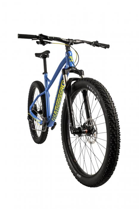 Bicicleta Mtb Devron Zerga 3.7 Xl 520Mm Galben Neon 27.5 Inch Plus 4