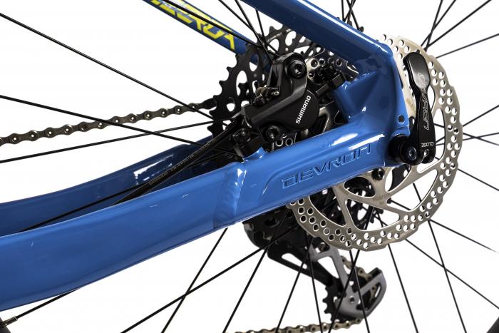 Bicicleta Mtb Devron Zerga 3.7 Xl 520Mm Galben Neon 27.5 Inch Plus 9