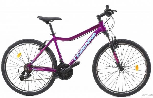 Bicicleta Mtb Dhs Terrana 2622 M Violet 26 Inch 0