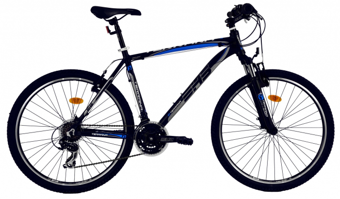 Bicicleta Mtb Dhs Terrana 2623 L Negru/Verde 26 Inch 2