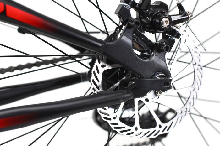Bicicleta Mtb Dhs Terrana 2645 M Negru/Rosu 26 Inch 13