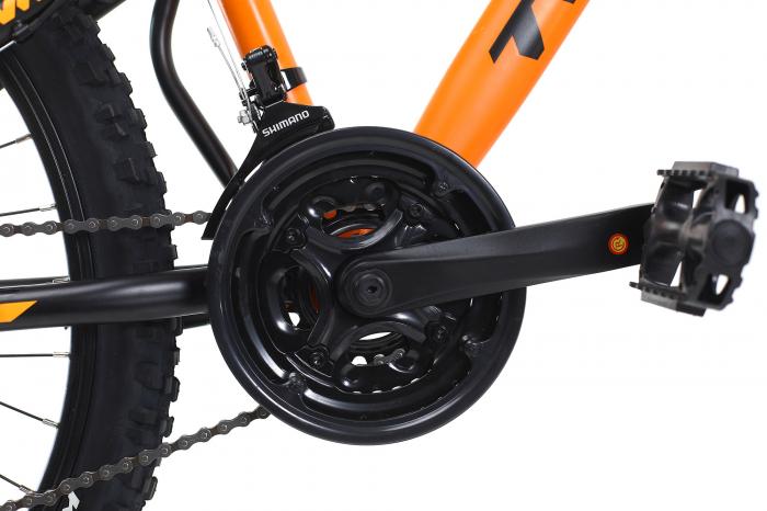 Bicicleta Mtb Dhs Terrana 2645 M Negru/Rosu 26 Inch 3