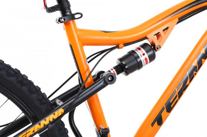 Bicicleta Mtb Dhs Terrana 2645 M Negru/Rosu 26 Inch 4