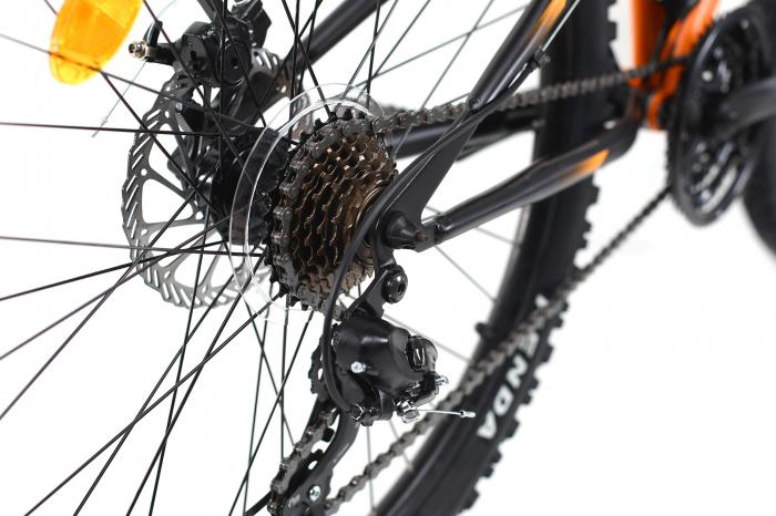 Bicicleta Mtb Dhs Terrana 2645 M Negru/Rosu 26 Inch 2