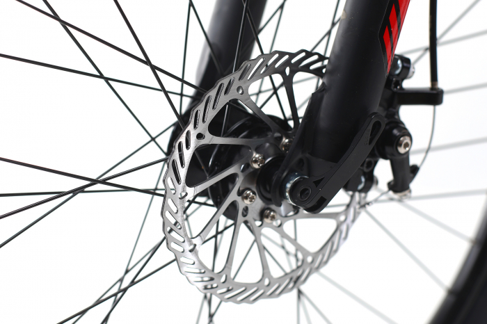 Bicicleta Mtb Dhs Terrana 2645 M Negru/Rosu 26 Inch 12
