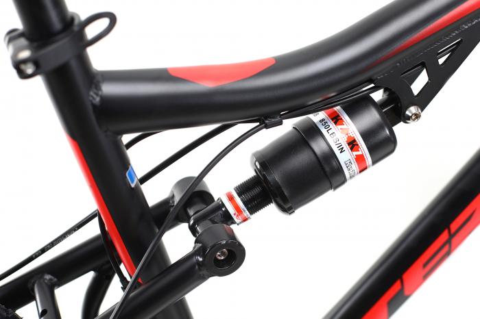 Bicicleta Mtb Dhs Terrana 2645 M Negru/Rosu 26 Inch 10