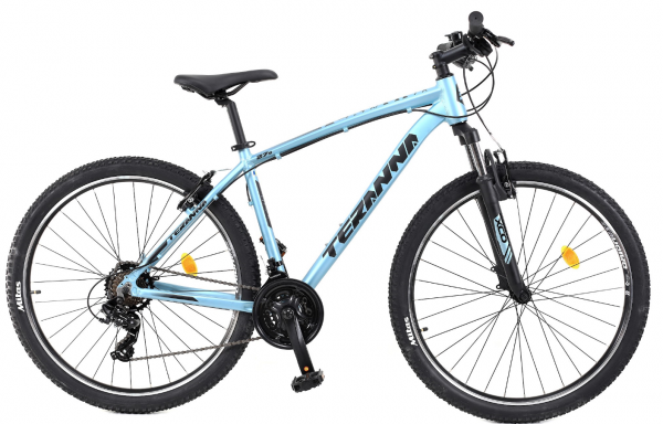 Bicicleta Mtb Dhs Terrana 2723 M Negru 27.5 Inch 0