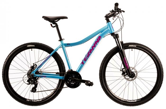 Bicicleta Mtb Dhs Terrana 2724 M Albastru Deschis 27.5 Inch 0