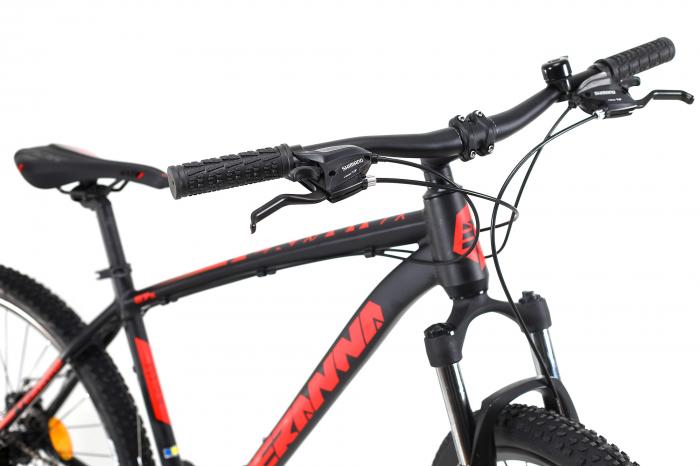 Bicicleta Mtb Dhs Terrana 2725 M Negru 27.5 Inch 5
