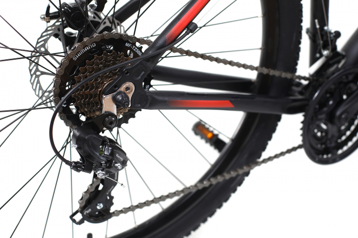 Bicicleta Mtb Dhs Terrana 2725 M Negru 27.5 Inch 2