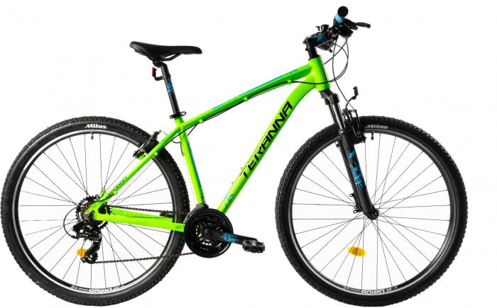 Bicicleta Mtb Dhs Terrana 2923 L Verde 29 Inch 0
