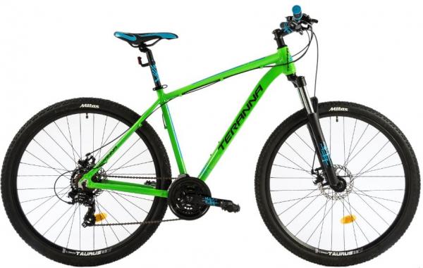 Bicicleta Mtb Dhs Terrana 2925 L 495Mm Verde 29 Inch 0