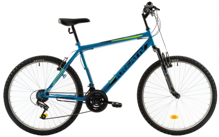 Bicicleta Mtb Kreativ 2603 L Albastru 26 Inch 0