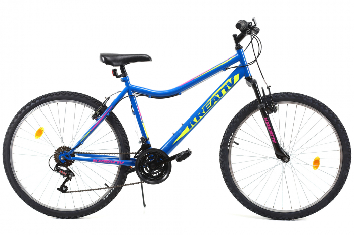 Bicicleta Mtb Kreativ 2604 M Negru 26 Inch 0