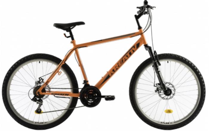 Bicicleta Mtb Kreativ 2605 500Mm Portocaliu 26 Inch 0