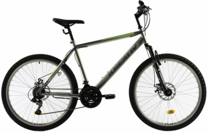 Bicicleta Mtb Kreativ 2605 500Mm Portocaliu 26 Inch 1
