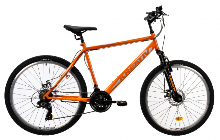 Bicicleta Mtb Kreativ 2605 M Portocaliu 26 Inch 2