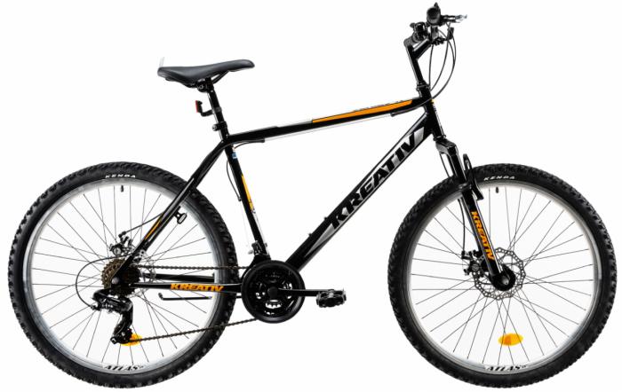 Bicicleta Mtb Kreativ 2605 M Portocaliu 26 Inch 0