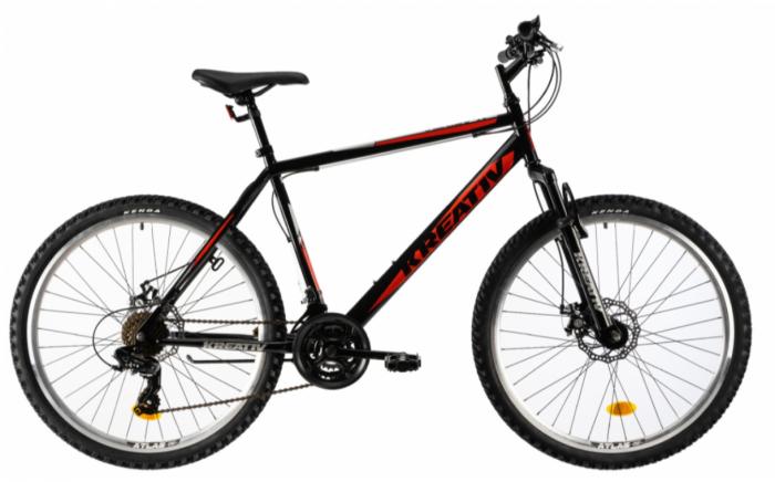 Bicicleta Mtb Kreativ 2605 M Portocaliu 26 Inch 3