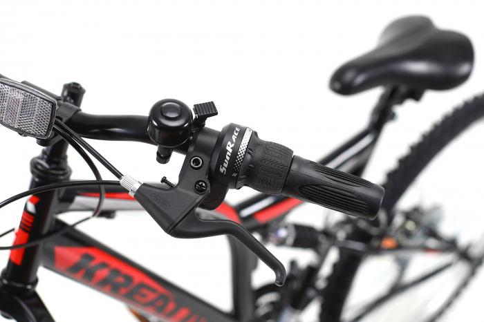 Bicicleta Mtb Kreativ 2641 M Negru/Rosu 26 Inch 10