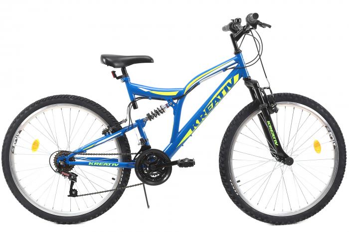Bicicleta Mtb Kreativ 2641 M Negru/Rosu 26 Inch 1