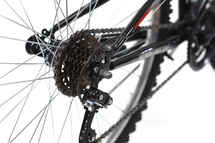 Bicicleta Mtb Kreativ 2641 M Negru/Rosu 26 Inch 7