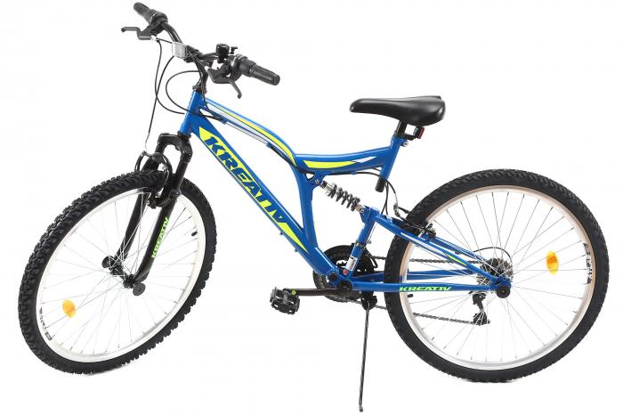 Bicicleta Mtb Kreativ 2641 M Negru/Rosu 26 Inch 13