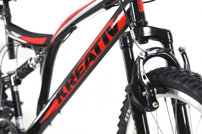 Bicicleta Mtb Kreativ 2641 M Negru/Rosu 26 Inch 9