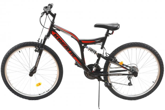 Bicicleta Mtb Kreativ 2641 M Negru/Rosu 26 Inch 12