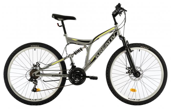 Bicicleta Mtb Kreativ 2643 M Gri 26 Inch 0