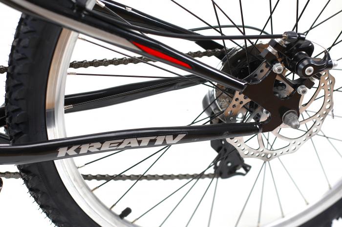 Bicicleta Mtb Kreativ 2643 M Negru/Rosu 26 Inch 7