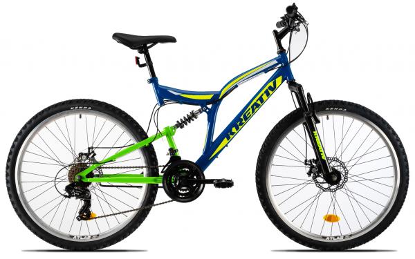 Bicicleta Mtb Kreativ 2643 M Negru/Rosu 26 Inch 1