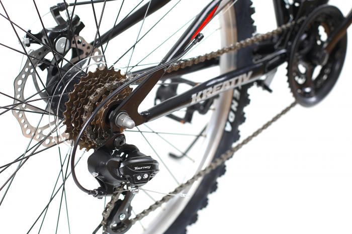 Bicicleta Mtb Kreativ 2643 M Negru/Rosu 26 Inch 2