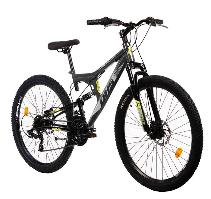 Bicicleta Mtb Terana 2743 FS - 27 Inch  M  Rosu [8]
