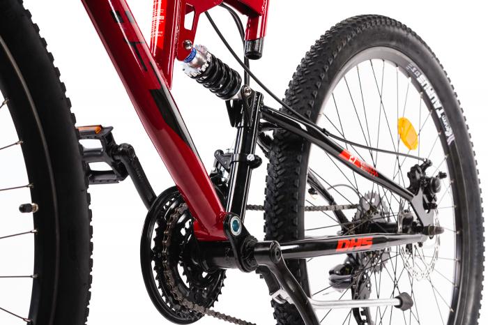 Bicicleta Mtb Terana 2743 FS - 27 Inch  M  Rosu [2]