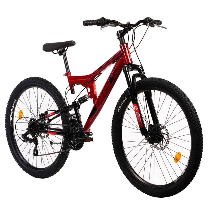 Bicicleta Mtb Terana 2743 FS - 27 Inch  M  Rosu [4]