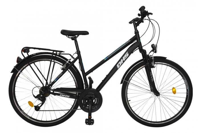 Bicicleta Mtb Travel 2854 - 28 Inch, L, Negru [0]