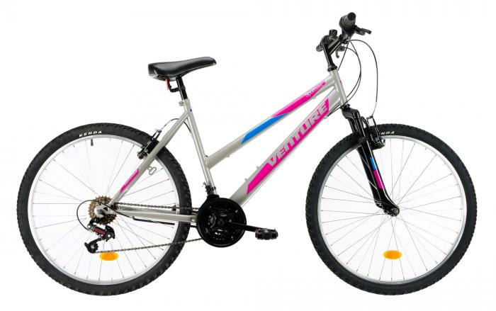 Bicicleta Mtb Venture 2602 Gri M 26 Inch 0