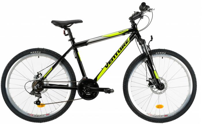 Bicicleta Mtb Venture 2621 495Mm Negru/Galben 26 Inch 0
