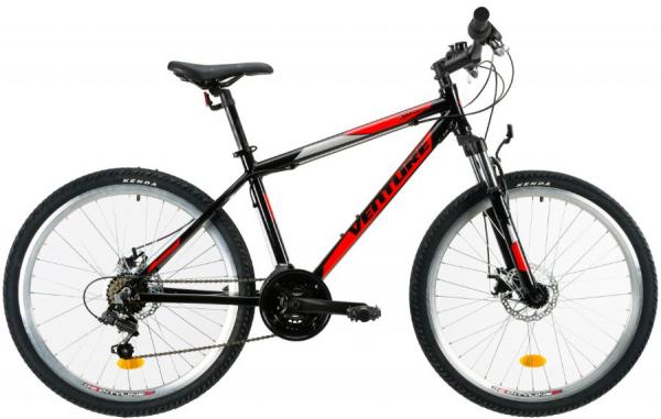 Bicicleta Mtb Venture 2621 495Mm Negru/Galben 26 Inch 2