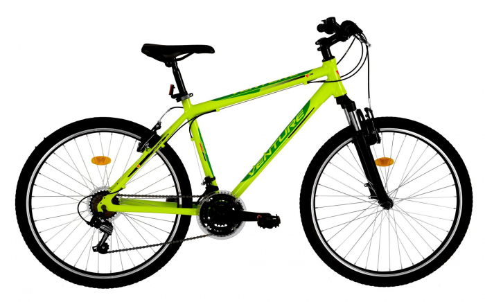 Bicicleta Mtb Venture 2621 Verde L 26 Inch 0