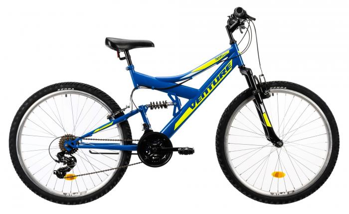Bicicleta Mtb Venture 2640 Albastru 26 Inch 0
